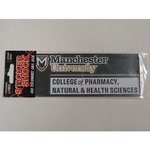 COLLEGE OF PHARMACY, NATURAL & HEALTH SCIENCES CAR DECAL