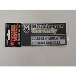 COLLEGE OF EDUCATION AND SOCIAL SCIENCES CAR DECAL