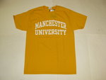 RUSSELL ADMISSIONS T-SHIRTS GOLD