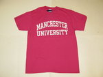 RUSSELL ADMISSIONS T-SHIRTS HOT PINK