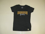 LEGACY GRAPHITE WOMENS T-SHIRT W/MANCHESTER & SPARTANS