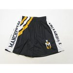 LEAGUE STRIPED ATHLETIC SHORTS
