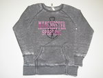 OURAY WOMENS GRAY CREW WITH PINK MANCHESTER SPARTANS
