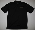 CORE 365 MENS BLACK POLO