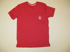 BOXERCRAFT RED T-SHIRT W/SPARTAN HEAD ON POCKET