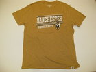 LEGACY GOLD T-SHIRT W/MANCHESTER UNIVERSITY & SPARTAN HEAD