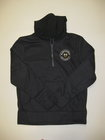 LEAGUE REPREVE FLEECE HOODIE W/EMBROIDERED CIRCLE OF MACHESTER, CREST & UNIVERSITY