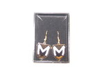 CREST DANGLE EARRINGS