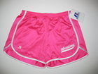 RUSSELL HOT PINK RUNNING SHORTS W/SPARTANS & SWOOSH