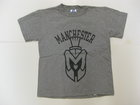 RUSSELL YOUTH GRAY T-SHIRT W/SPARTAN HEAD