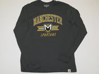 LEAGUE GRAPHITE LONG SLEEVE W/MANCHESTER, CREST AND SPARTANS