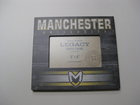 LEGACY PICTURE FRAME W/MANCHESTER, UNVERSITY AND OUR CREST