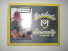 PICTURE FRAME WITH METAL HOLDER & MANCHESTER UNIVERSITY, CREST & GO SPARTANS