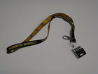 LANYARD MANCHESTER UNIVERSITY ONE SIDE & CRESTS ON THE OTHER