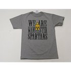 RUSSELL WE ARE MANCHESTER SPARTANS GRAY YOUTH T-SHIRT