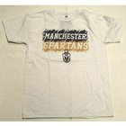 RUSSELL YOUTH WHITE T-SHIRT MANCHESTER & SPARTANS