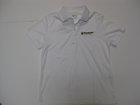 CORE WOMENS WHITE POLO