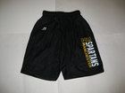 RUSSELL YOUTH BLACK SPARTAN MESH SHORTS